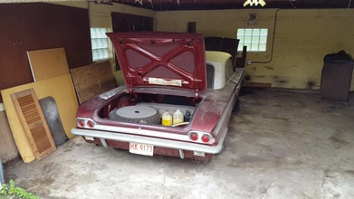 Original 1962 Oldsmobile Jetfire Found in a Garage!