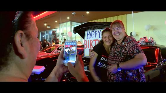 Girl Gets a 1965 Mustang Surprise on Her 16th Birthday