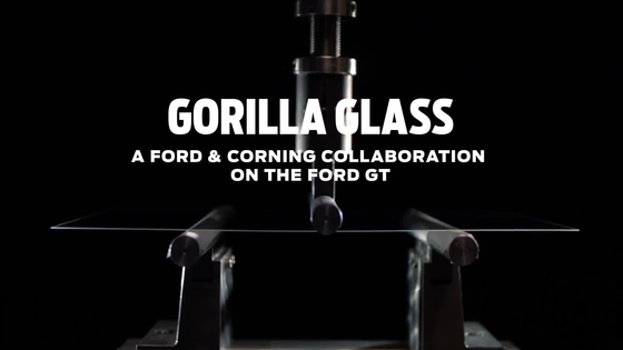 Gorilla Glass Ford GT