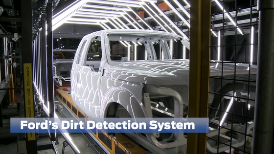 Ford 3D Dirt Detection