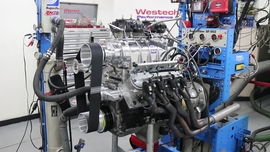 6-71 blower on 383 LS engine makes 753 hp on just 7.3 pounds of boost!