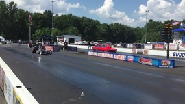 Drag pass at the 2016 Super Chevy Show in Maryland