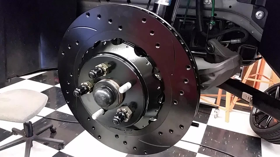 Wilwood Brake Install 4