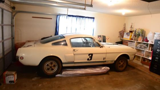 Amazing Barn Find! Shelby G.T. 350