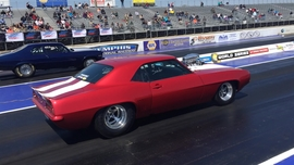 Saturday drags at 2016 Memphis Super Chevy Show