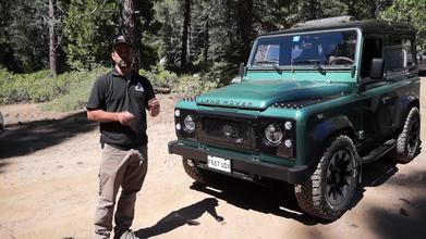 Learning to Off-Road in a $150K+ Land Rover Defender | Automobile