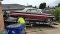 1962 Oldsmobile Jetfire Loaded Onto Trailor