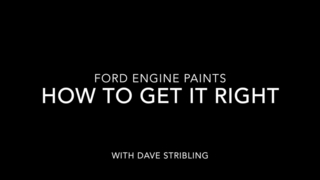 Ford Engine Paints