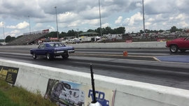 Super Chevy Ohio drag race action