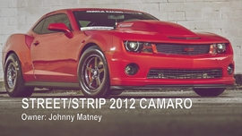 2012 Camaro Street Strip Gallery Video