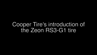 Cooper tire introduction