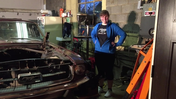 Mustang Girl Monday: Caitlin Terhune and her 1967 Fastback