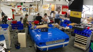 Time Lapse of Legoland Florida's BrickPony 1964 1/2 Mustang