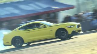 Drifting S550 Mustangs at The 2016 SEMA Show with Ford out Front