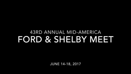 Mid-America Ford & Shelby Meet