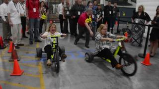 Shelby Bash 2017-Tricycle Race!