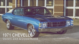 1971 Chevelle Street Machine Gallery Video