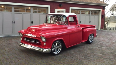 Classic Chevy Trucks For Sale >> 1957 Chevy Peter Bourikas