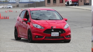 Ride Along For An Auto-X Lap In A Modified Fiesta ST