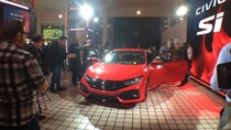 Honda Civic Si Coupe Prototype Unveil
