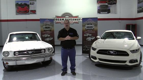 2015 Mustang Dream Giveaway