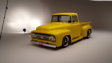 a 1956 ford f 100 big window that gets better with every rebuild