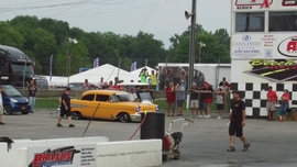 Jeff Lutz 57 Pass at Tri-Five Nationals