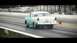 2016 Tri Five Nationals Drag Racing Action