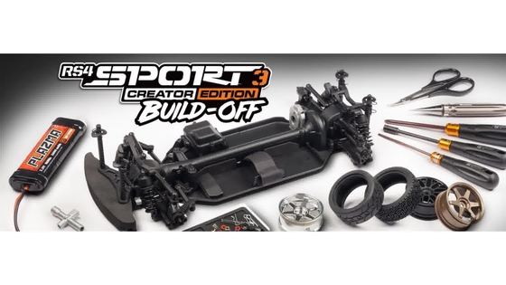 HPI Racing RS4 Sport3 Creator Edition Build-Off: Week 1