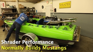 1,000hp Coyote-Powered Speed Boat from Shrader Performance