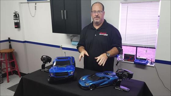 Traxxas Ford GT and Ford F-150 Raptor R/C reveal