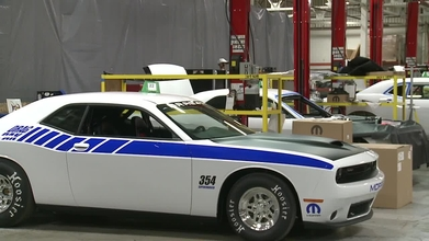 Exclusive Video - Mopar's Drag Pak Build Facility