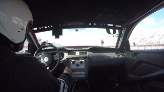 Charlie Downing banging gears and taking out a LS1 powered GTO during eliminations.