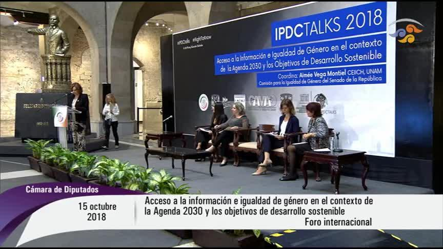 Foro Internacional: International Programme for the Development of Communication Talks 2018 (IPDC Talks 2018). Parte I.