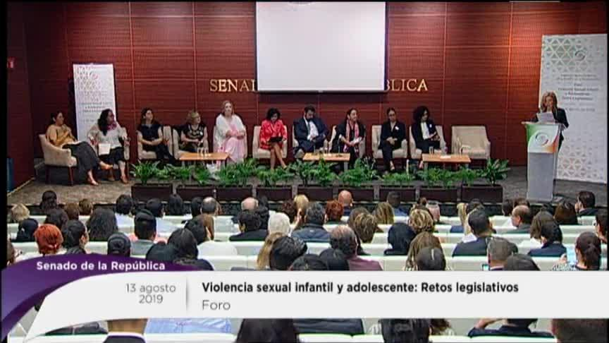 Foro: Violencia Sexual infantil y adolescente Panel l