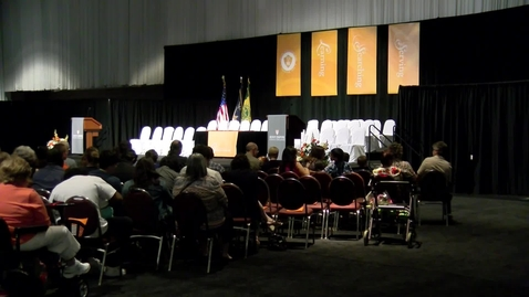 Thumbnail for entry 2018 Rochester Commencement Stream Recording