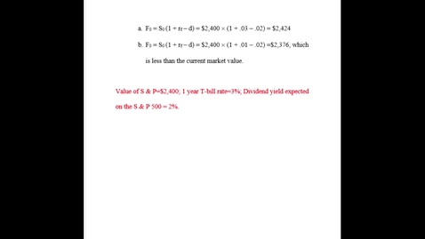 Thumbnail for entry FSMA4010 Chapter 17, Problem 8