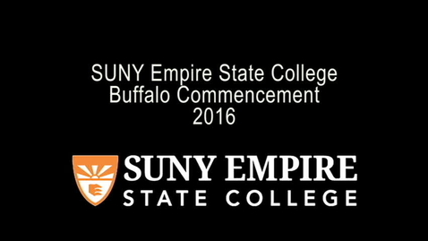 Thumbnail for entry 2016 Buffalo Commencement