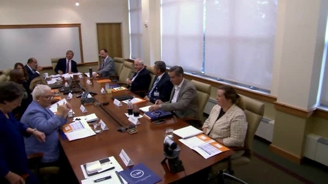 Thumbnail for entry College Council Meeting - September 19, 2018
