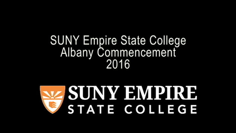 Thumbnail for entry 2016 Albany Commencement