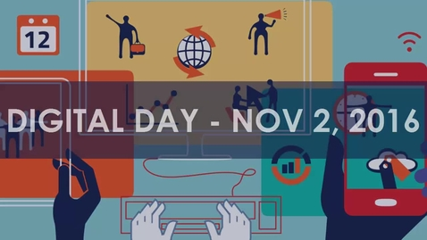 Thumbnail for entry Digital Day Keynote Address: Open Educational Resources - Mark McBride