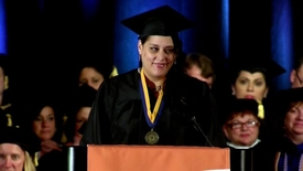 Thumbnail for entry 2014 Commencement Ceremony - Sandra Barkevich