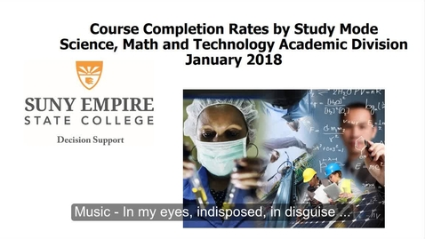 Thumbnail for entry Mode of Study Webinar - Science, Math, and Technology