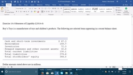 Thumbnail for entry 212064 Introductory Accounting 2 - Problem Demo Exercise 14-4