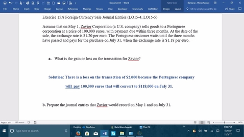 Thumbnail for entry 212064 Introductory Accounting 2 - Problem Demo Exercise 15-8