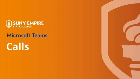Thumbnail for entry Teams: Make Calls and Chat