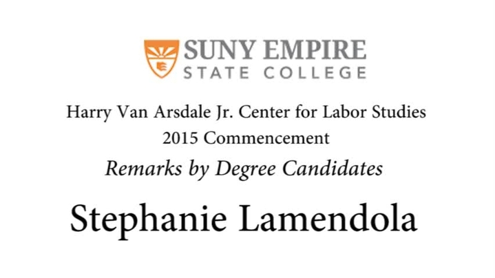 Thumbnail for channel Commencement Ceremonies 2015
