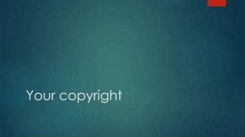Thumbnail for entry Your Copyright (section 7)