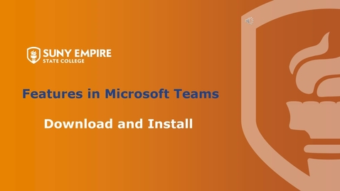 Thumbnail for entry Download and Install for Windows Users - Features in MS Teams