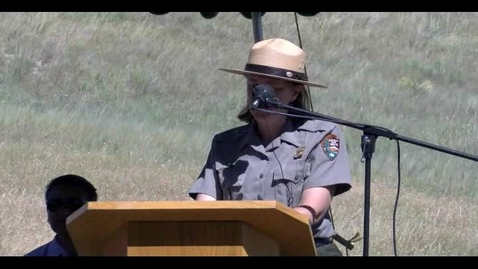 Thumbnail for entry Cheyenne Little Big Horn Battle Ceremony